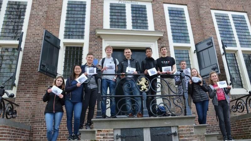 Trotse wereldburgers op Jacob van Liesveldt