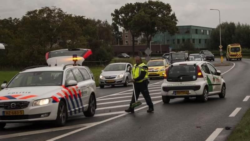 Aanrijding met letsel op Groene Kruisweg
