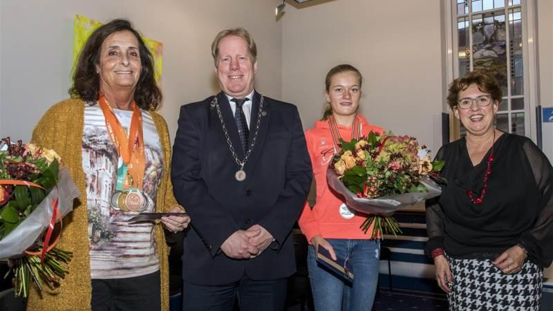Gemeente Westvoorne huldigt sporters