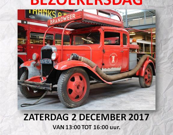 Brandweeroldtimer te bezichtigen in Oostvoorne