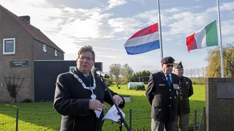 Oorlogsslachtoffers herdacht bij monument