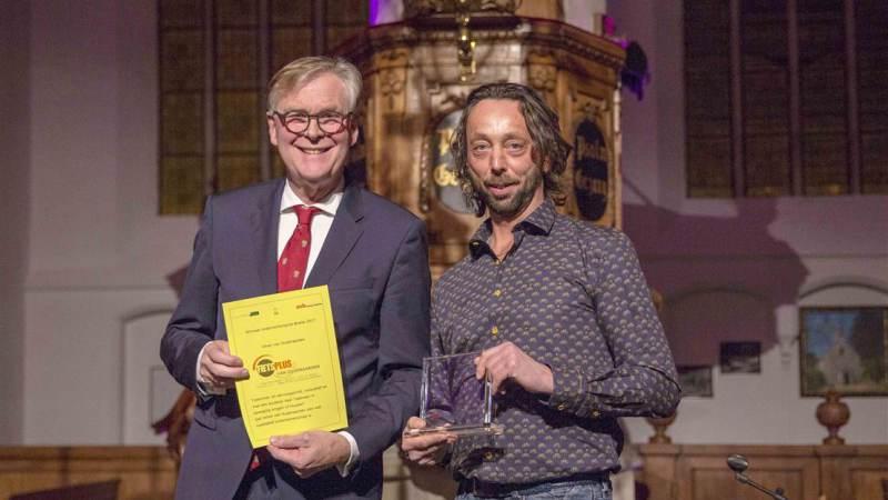 Ondernemersprijs Brielle voor Van Oudenaarden