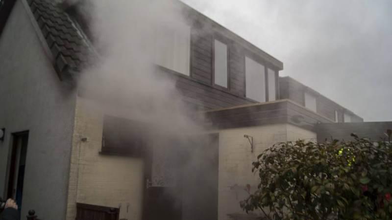 Brandweer rukt uit voor oververhitte wasdroger