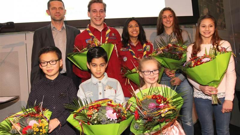 Jeugd- en Jongerenlintjes uitgereikt in Nissewaard
