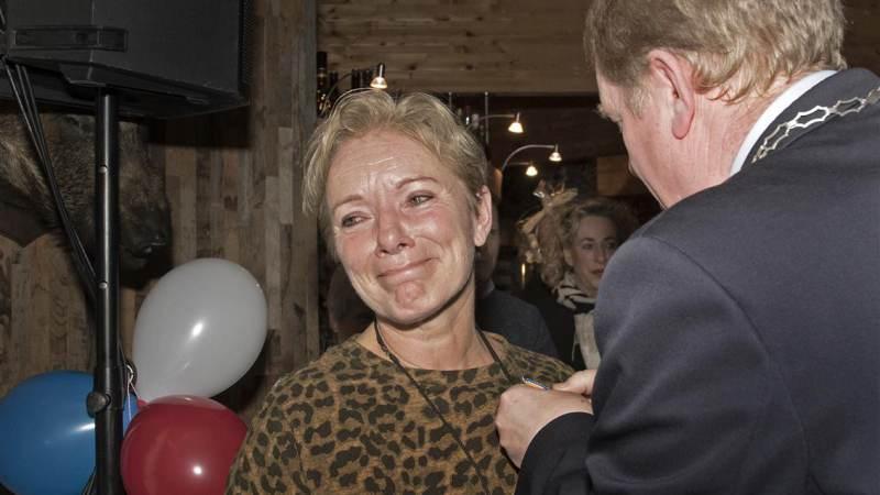 Charlotte Tieman Koninklijk onderscheiden