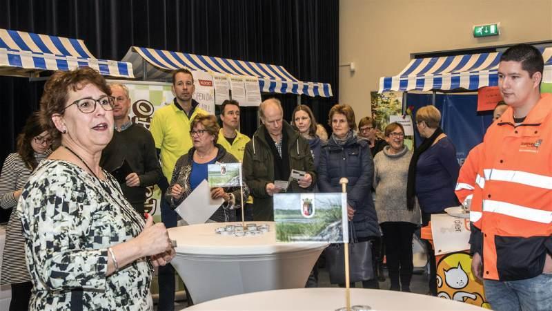 Succesvolle vrijwilligersmarkt in Westvoorne