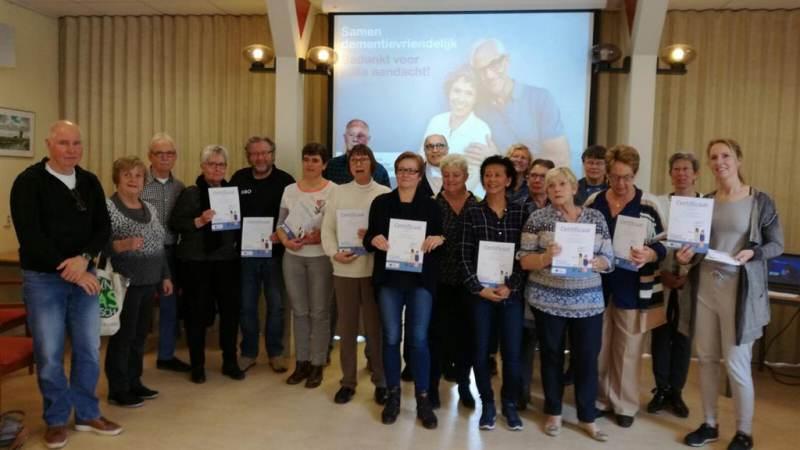 Werken aan dementie vriendelijke samenleving