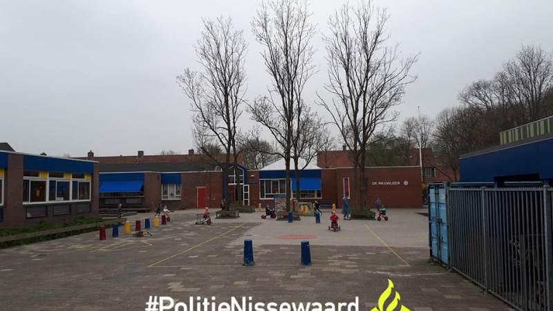 Getuigen gezocht van brand op basisschool