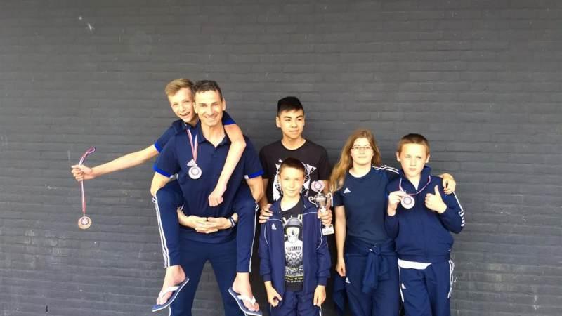 Mooie prestaties voor Taekwondo V-P
