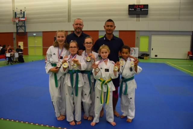 Taekwondo Voorne Putten weer in de prijzen