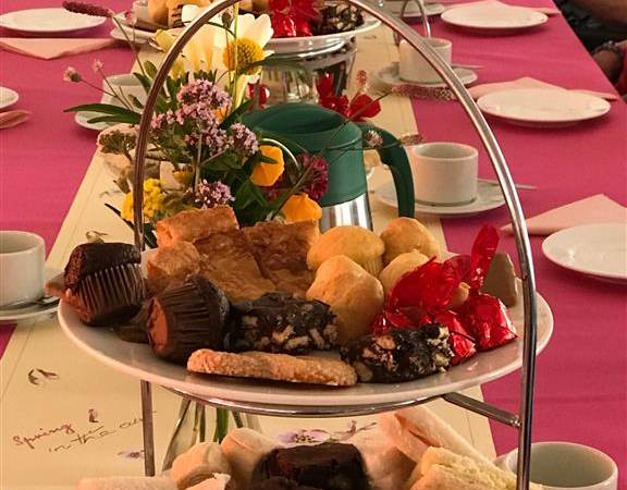 High Tea voor bewoners Bernissesteyn