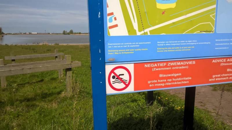 Weer waarschuwing voor blauwalg erbij!