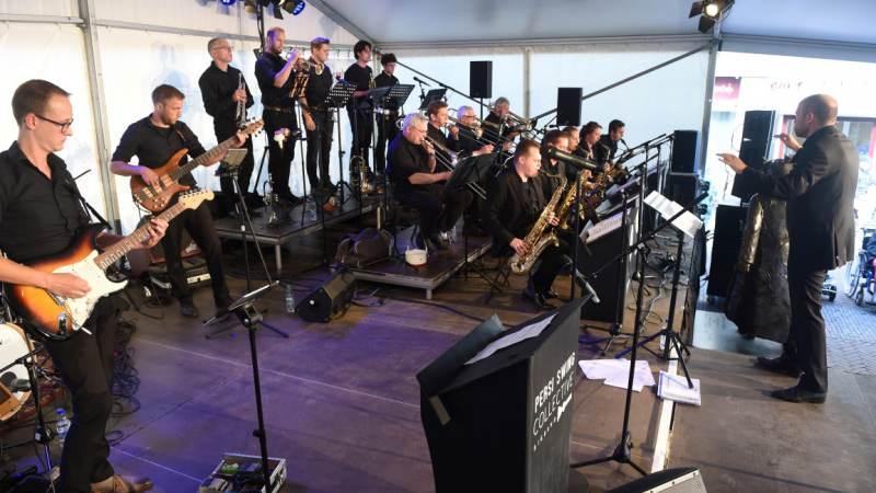 Sfeervol Big Band Festival op de Markt