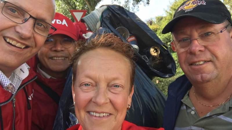PvdA doet mee aan World Clean up Day