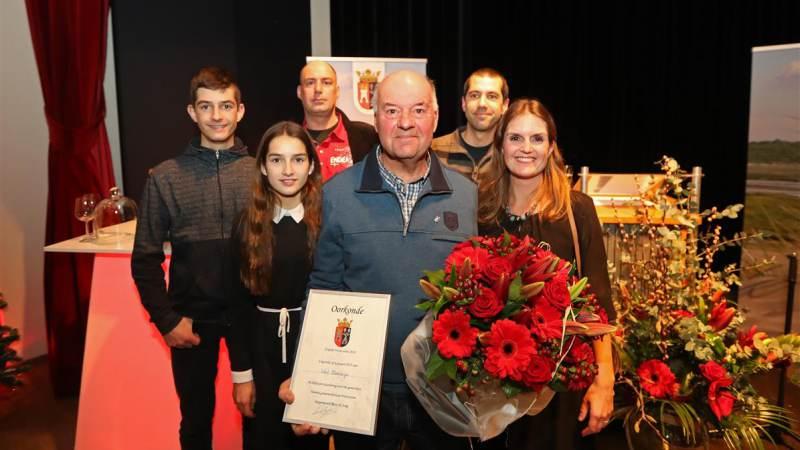 Wout Manifarges ontvangt Ereprijs Westvoorne