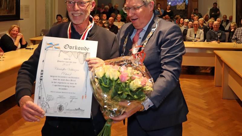 Chris Velthuizen benoemd tot Poorter van het Jaar