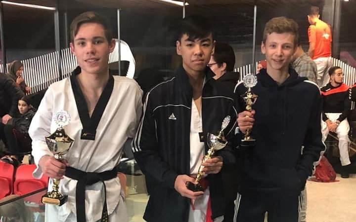 100% score op het NK Taekwondo