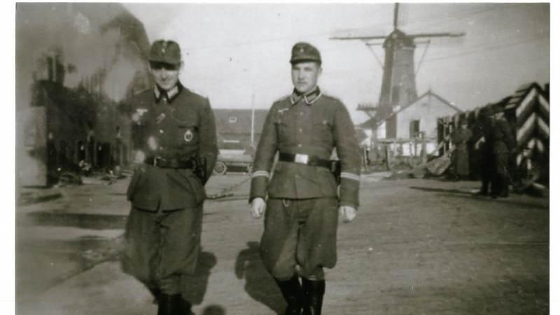 Tataren op Voorne in WOII
