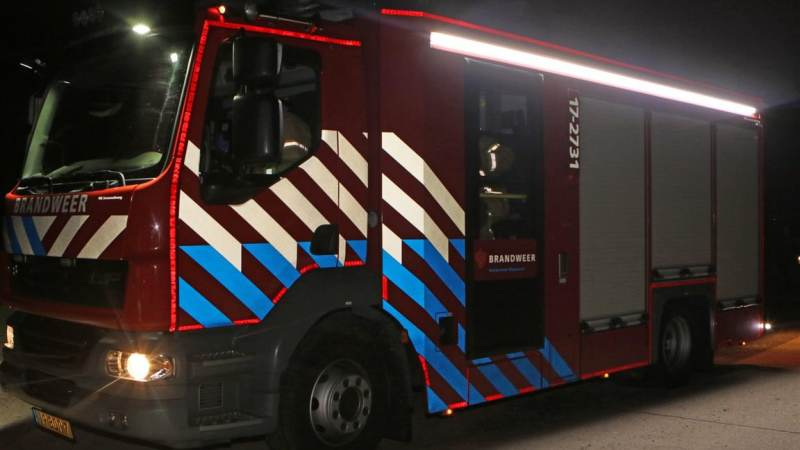 Bewoners gered bij fikse woningbrand
