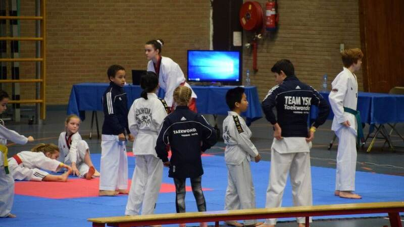 Mooie prestaties Taekwondo Voorne Putten