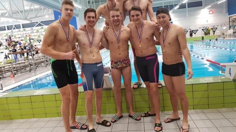 Goud voor zwemmers ZV De Kempvis