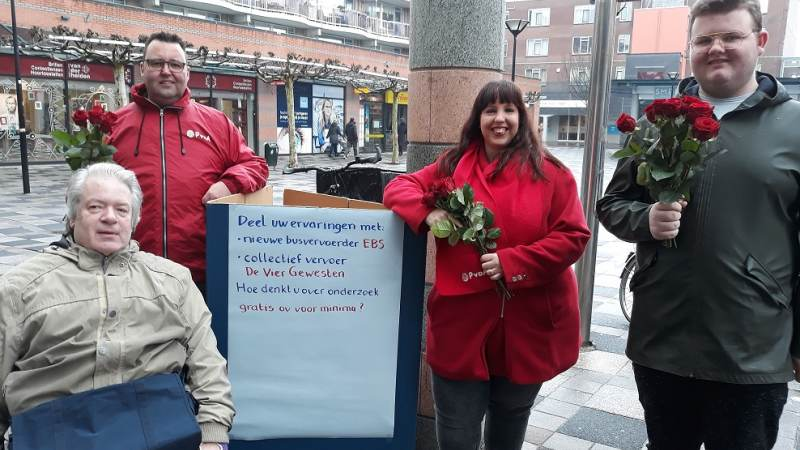 PvdA in gesprek over vervoer in Nissewaard