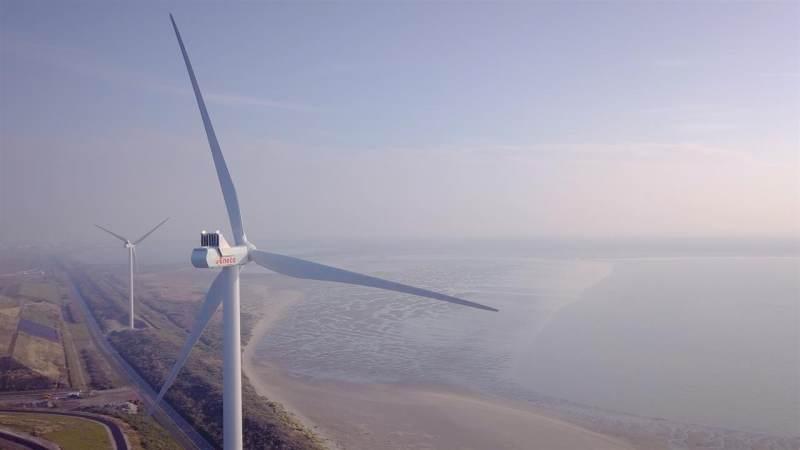 Windpark Slufterdam 2.0 in gebruik genomen
