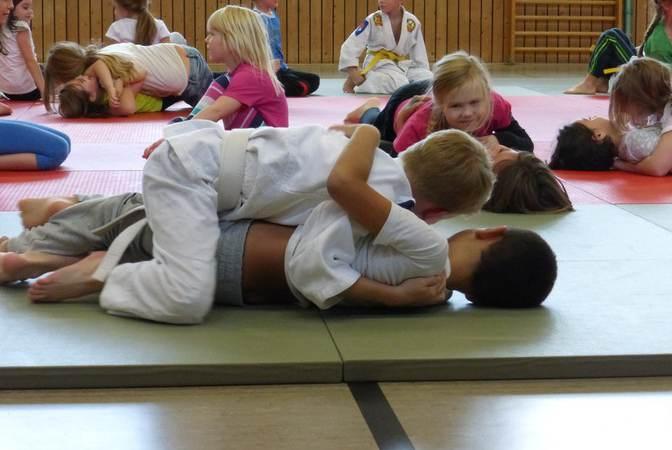 Nieuwe judomatten