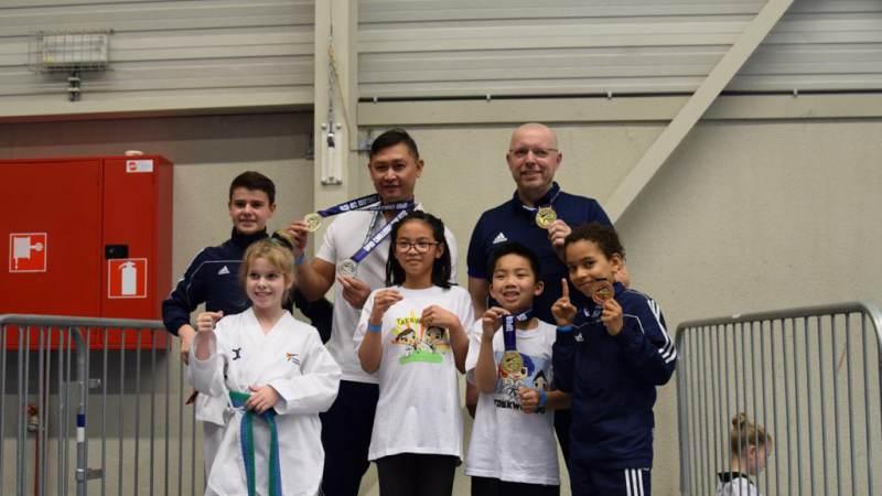 Mooie prestatie van stijlteam Taekwondo VP