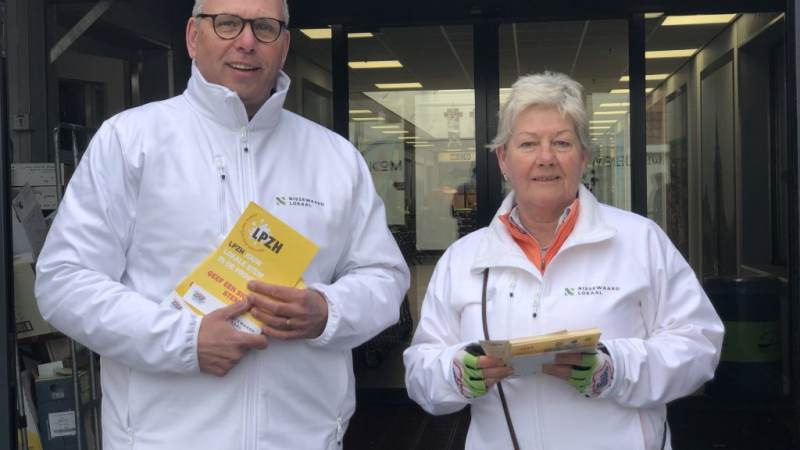 Nissewaard Lokaal op campagne voor LPZH