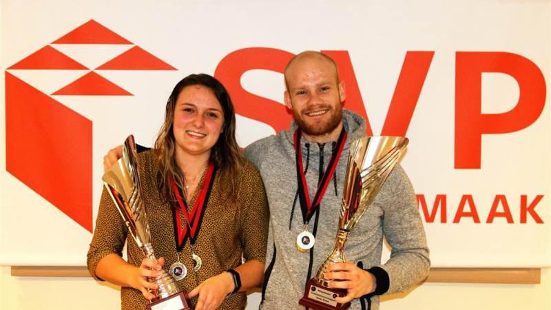 Ewout en Naomi BCRS clubkampioenen 2019