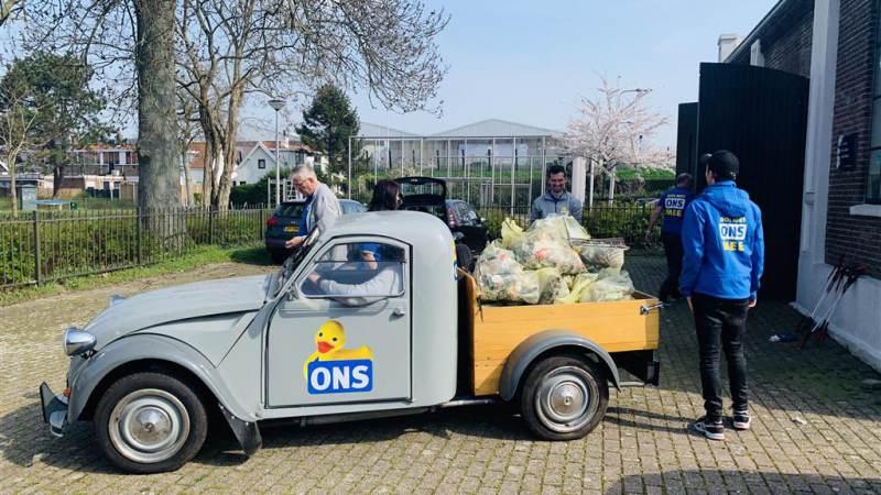 ONS houdt schoonmaakactie in Molenwijk