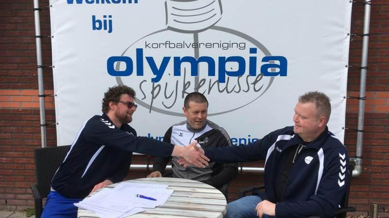 Nieuwe coaches Olympia tekenen contract