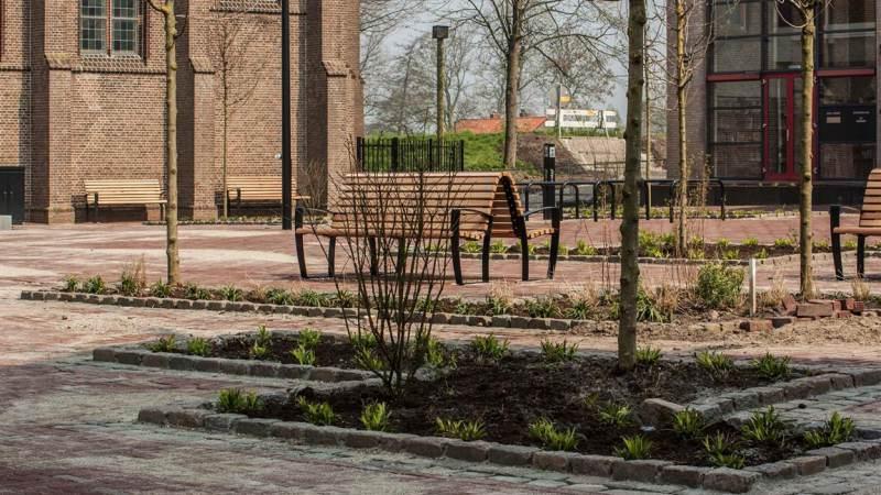 Cultuurplein Opzoomerlaan open voor verkeer