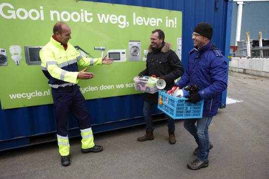 Maak kans op Wecycle-cheque van 1.000 euro