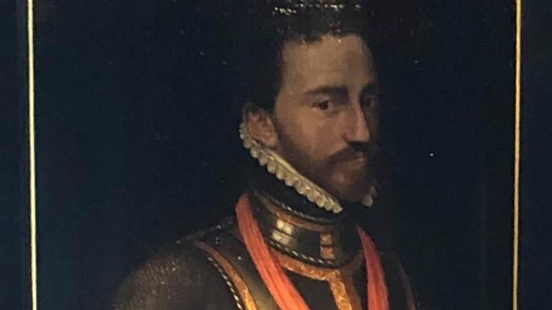 Portret Lodewijk van Nassau in museum