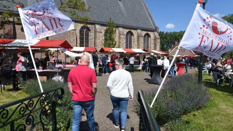 Gezellige Moederdagfair in Oudenhoorn