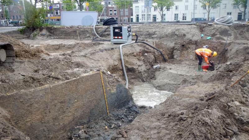 Archeologische vondst in de Vesting