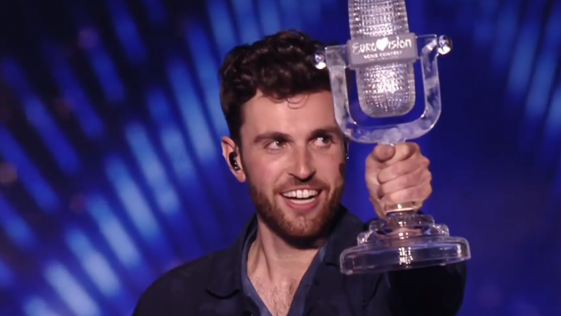 Duncan Laurence wint Eurovisie Songfestival 2019!