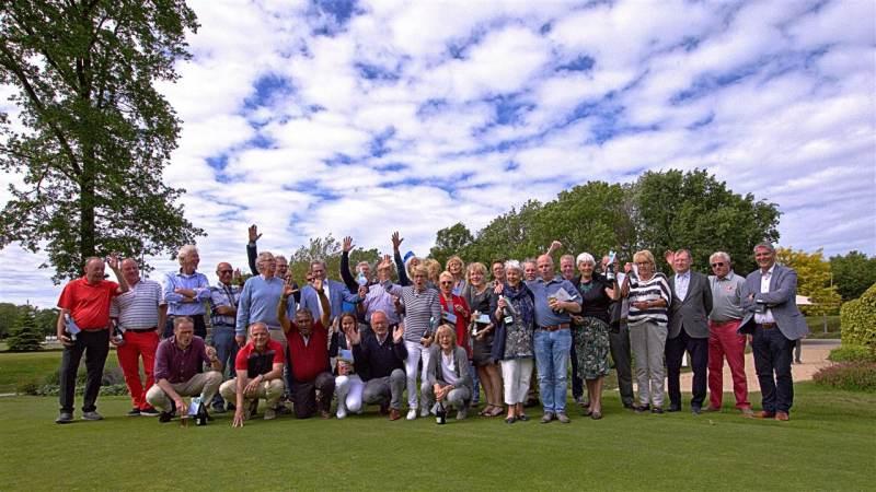 Acht competitiewinnaars op Golfclub Kleiburg!