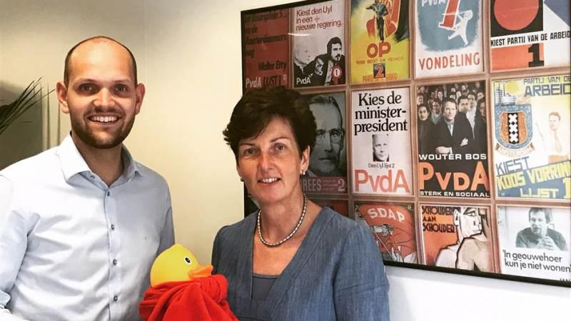 PvdA Nissewaard steunt Kiwanis Duckrace