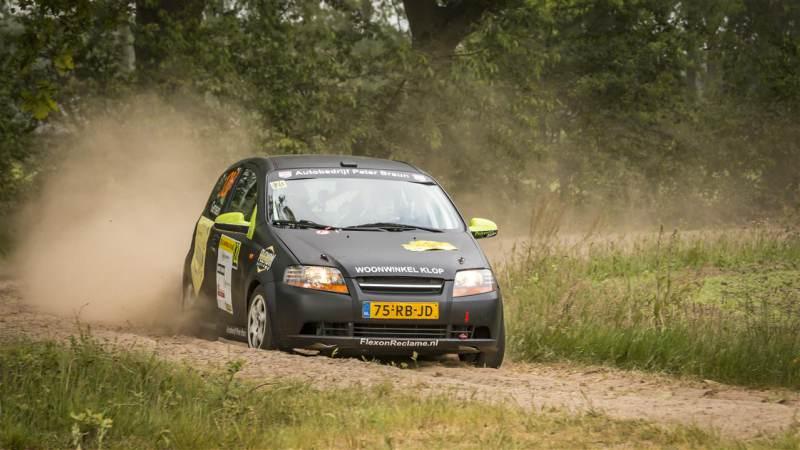 Rallycoureur Jan Gerssen pakt belangrijke punten