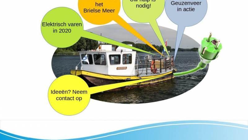 Geuzenveer actie voor elektrisch varen