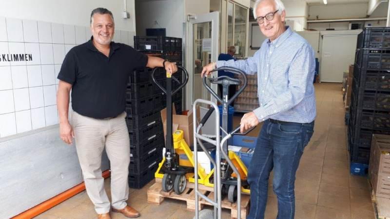 Daksafe doneert aan Voedselbank Spijkenisse