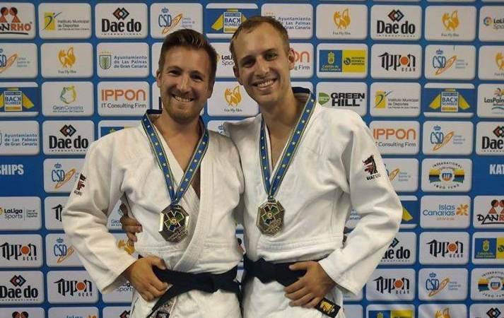 Twee judo kampioenen in Vierpolders
