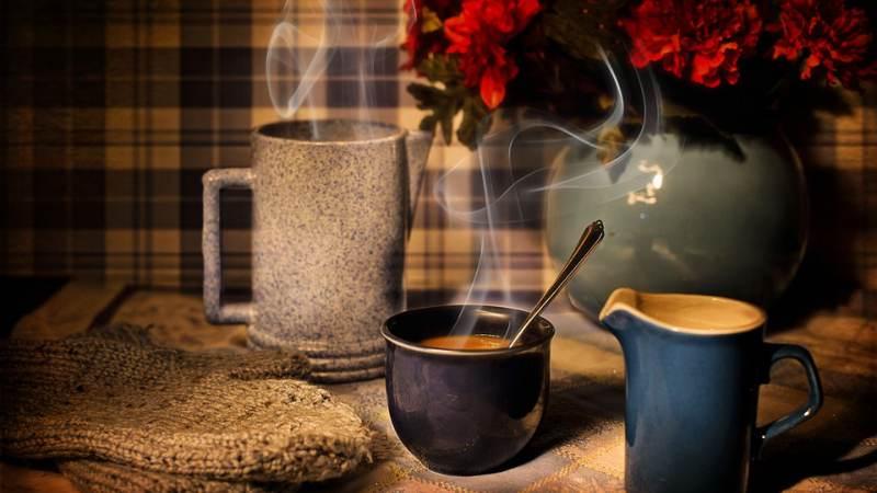 Koffie-ochtend Bakkie Liefde