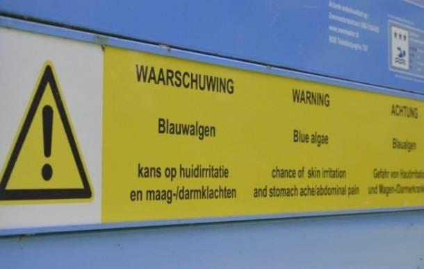 Weer een waarschuwing voor aanwezigheid blauwalg