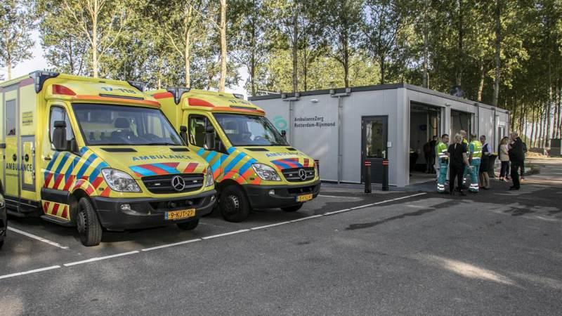 Nieuwe ambulancepost officieel geopend