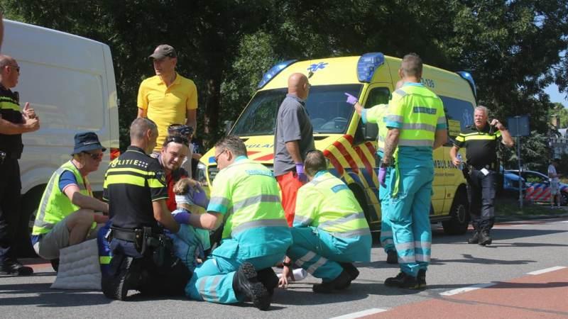 Wielrenner gewond bij Wielerronde in Zuidland