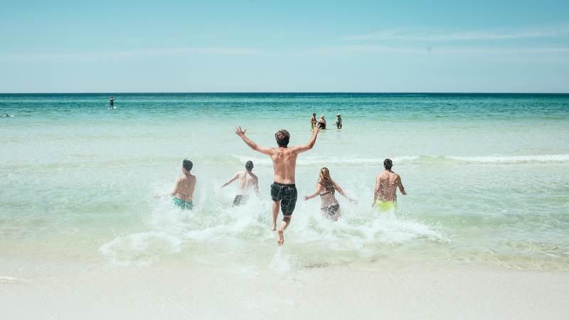 Waarschuwing blauwalg strand Rockanje ingetrokken